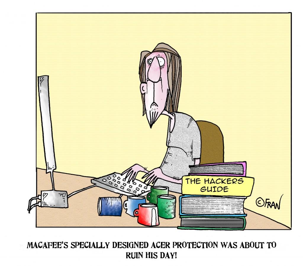 One depressed hacker