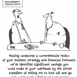 A Private Eye cartoon about management Consultants